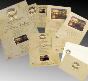 Poster, invitations, statement stuffers and flyers for Holiday Showhouse