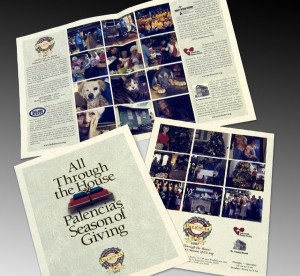 Holiday Showhouse charity brochure