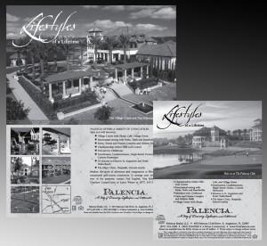 Black and White Ad for Palencia