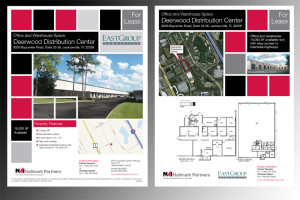 EastGroup Marketing Flyers front and back