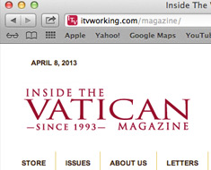 Inside the Vatican magazine