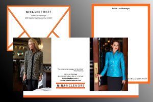 Thank you notes and other note card stationery for Nina McLemore